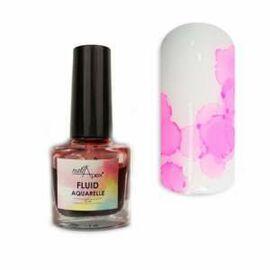 NAILAPEX Акварельный лак-флюид 04 Розовый, 5 ml #1