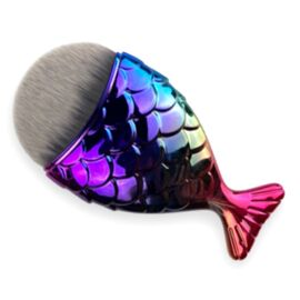 Кисть для нейл-арта Рыбка (радуга) #1