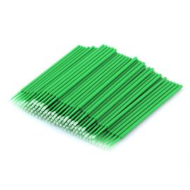 Микробраш пластиковый, цвет зеленый, 100 штук #1