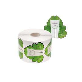 Форма для наращивания ногтей, зеленый лист, 300 штук #1
