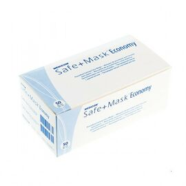 Маски Medicom Safe+Mask Economy, розовые, 50 штук #1