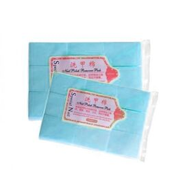Салфетки безворсовые голубые 4х6 cm, НАБОР 1000 шт #1