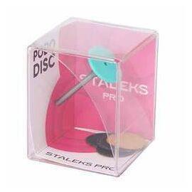 STALEKS Диск педикюрный пластиковый, Ø 20 mm, PODODISC EXPERT М в комплекте со сменными файлами 180 грит/5 шт #1