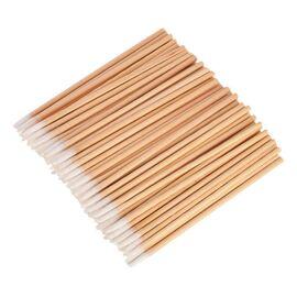 Микробраш деревянный, длина 7 см, НАБОР 100шт #1