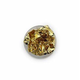 Фольга (поталь) античное золото, Antique Gold, 5 грамм #1