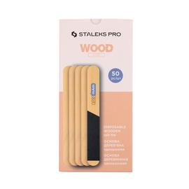 STALEKS Пилка-основа деревянная прямая одноразовая papmAm EXPERT 20 50 шт #1