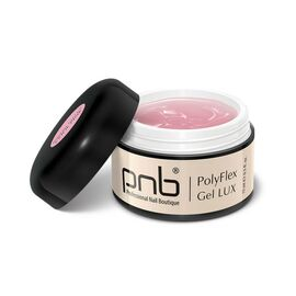 PNB Гель Полифлекс Светло-розовый PolyFlex Gel LUX Cool Pink, 15 ml #1