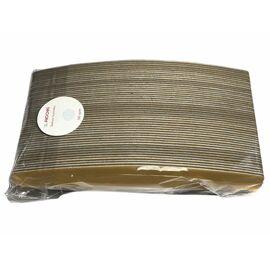 The Pilochki Сменный файл для основ ПОЛУМЕСЯЦ 155 mm, 150 грит, (на мягкой прослойке 1 mm) НАБОР 100 шт #1