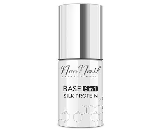 Базовое покрытие NeoNail Base 6 in 1 Silk Protein, 7,2 ml #1