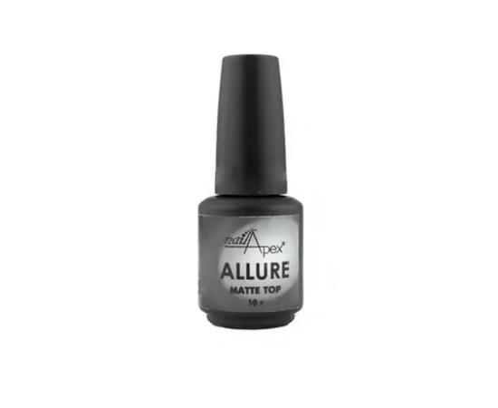 Матовый топ Allure Nailapex, 10 мл #1