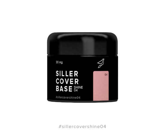 SILLER Cover Shine Base № 4, 30 ml #1