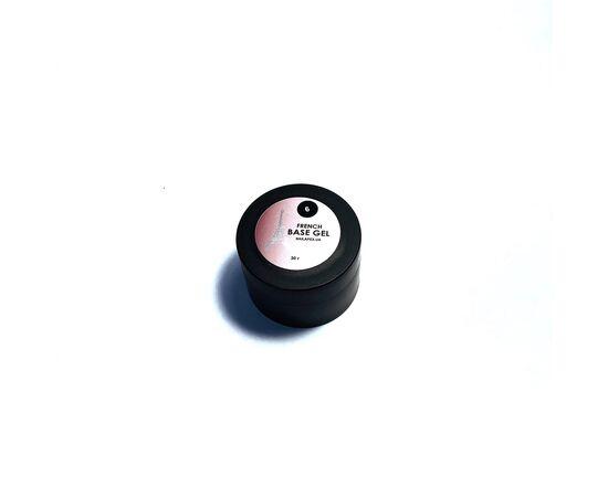 NAILAPEX База #6 Розово-бежевый нюд с серебристым шиммером, 30 ml #1