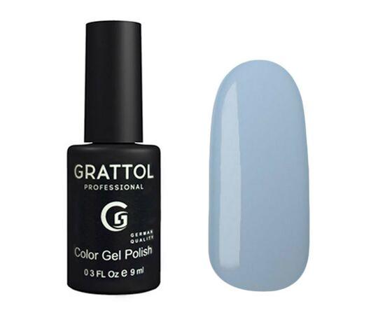Гель-лак Grattol, Color Gel Polish Pale Cornflower 118, бледно-васильковый, 9 мл #1