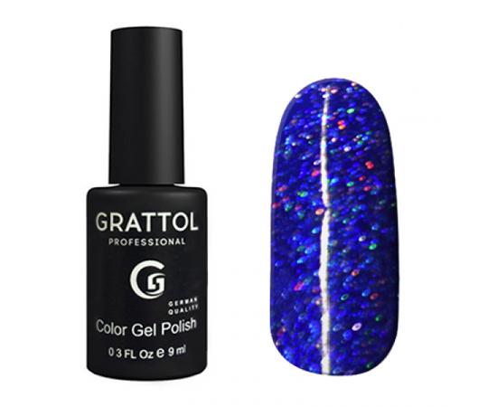 Гель-лак Grattol, Color Gel Polish LS Diamond 03, синий диамант, 9 мл #1