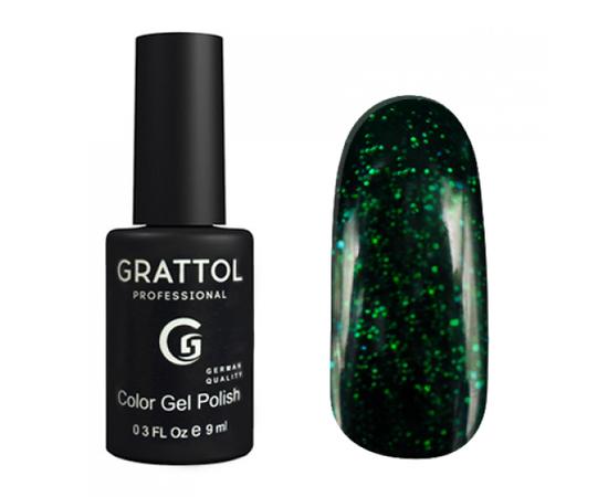 Гель-лак Grattol, Color Gel Polish LS Emerald 02, темный изумруд, 9 мл #1