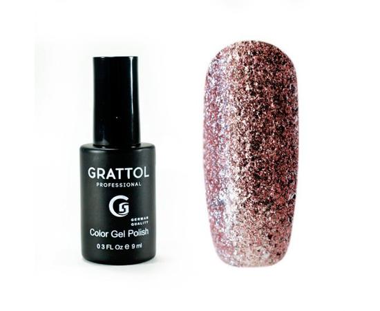 Гель-лак Grattol, Color Gel Polish Vegas 05, розовое золото, 9 мл #1