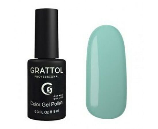 Гель-лак Grattol, Color Gel Polish Honeydew 112, бирюзово-голубой, 9 мл #1