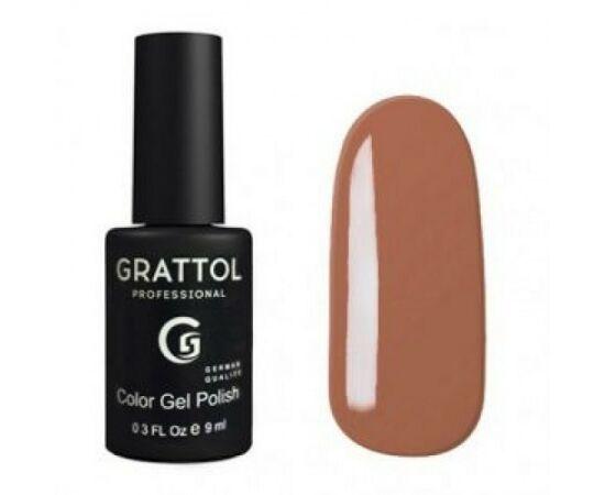 Гель-лак Grattol, Color Gel Polish Coffe Romano 138, темно-бежевый, 9 мл #1