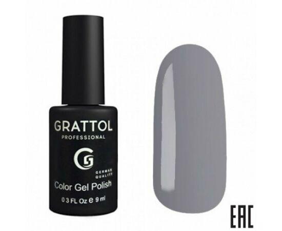 Гель-лак Grattol, Color Gel Polish Titanium 172, темный металл, 9 мл #1