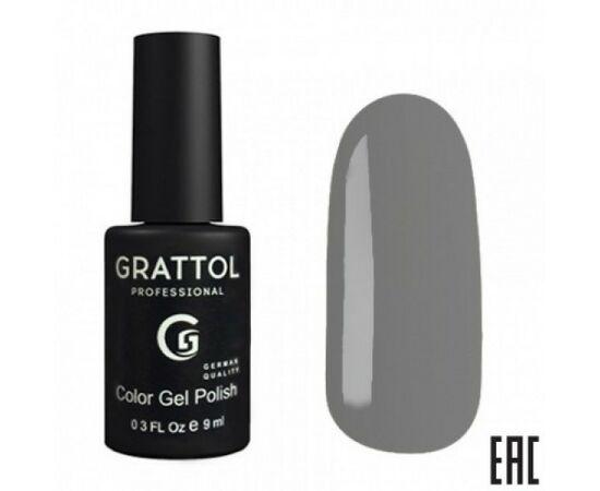 Гель-лак Grattol, Color Gel Polish Graphite 173, графитовый серый, 9 мл #1