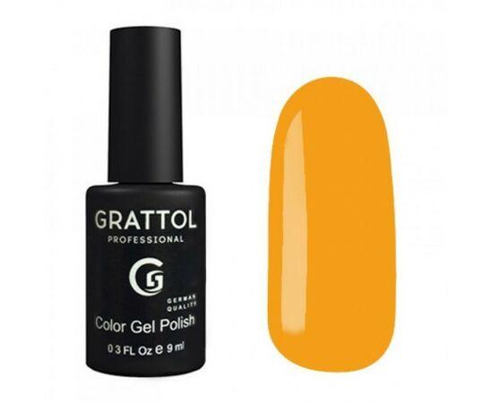 Гель-лак Grattol, Color Gel Polish Amber 182, желтый янтарь, 9 мл #1