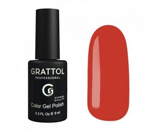 Гель-лак Grattol Color Gel Polish Ochre 186, красная охра, 9 мл #1