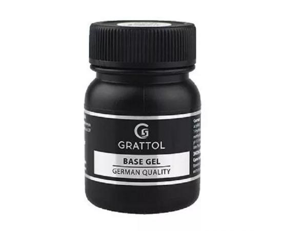 Каучуковая база, Grattol Rubber Base Gel, 50 ml #1