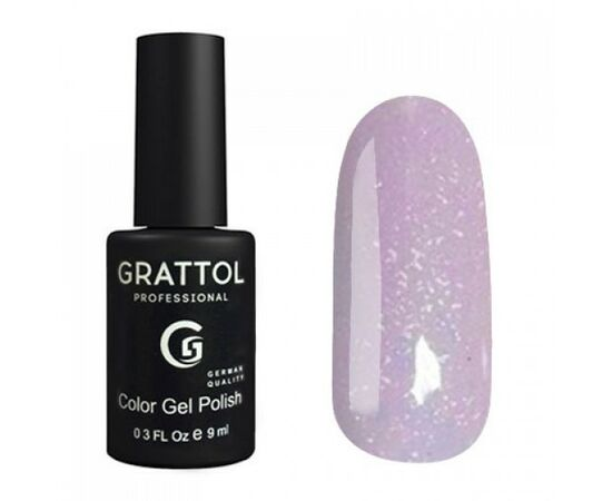 Гель-лак Grattol, Color Gel Polish LS Onyx 10, фиолетовый оникс, 9 мл #1