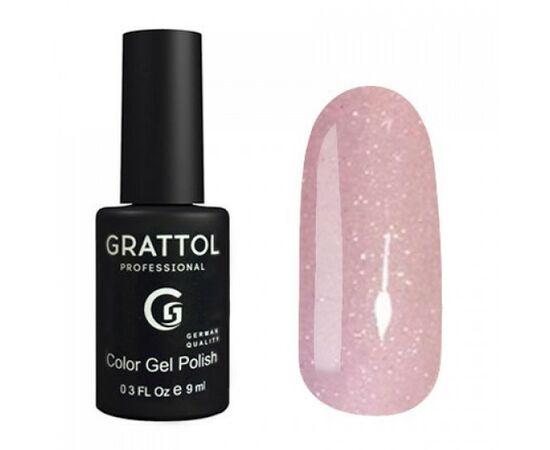 Гель-лак Grattol, Color Gel Polish LS Onyx 12, бледно-лиловый оникс, 9 мл #1