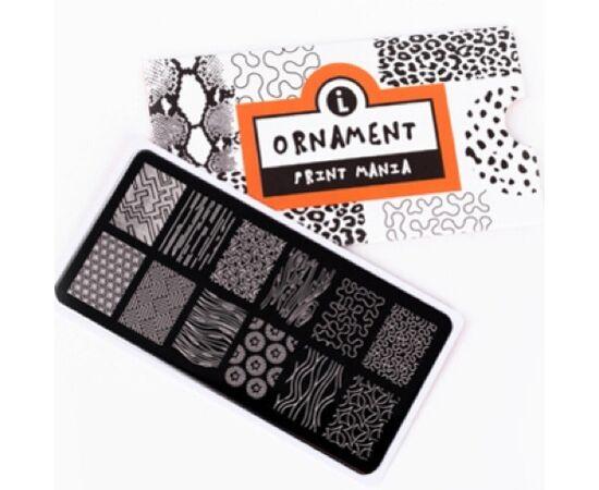LIANAIL Пластина для стемпинга Print Mania: Ornament #2, LPP-005 #1