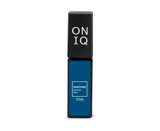 ONIQ Гель-лак 034s PANTONE: Imperial blue, 6 ml #1