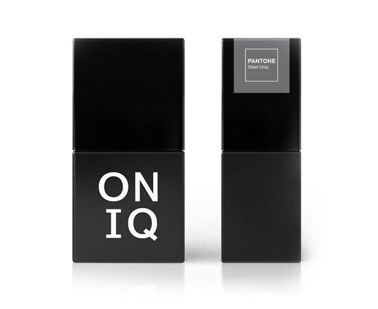 ONIQ Гель-лак 070 PANTONE: Steel Gray, 10 ml #1
