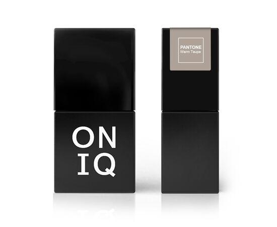 ONIQ Гель-лак 047 PANTONE: Warm taupe, 10 ml #1