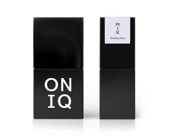 ONIQ Гель-лак 094 MIX: Sparkling Silver, 10 ml #1