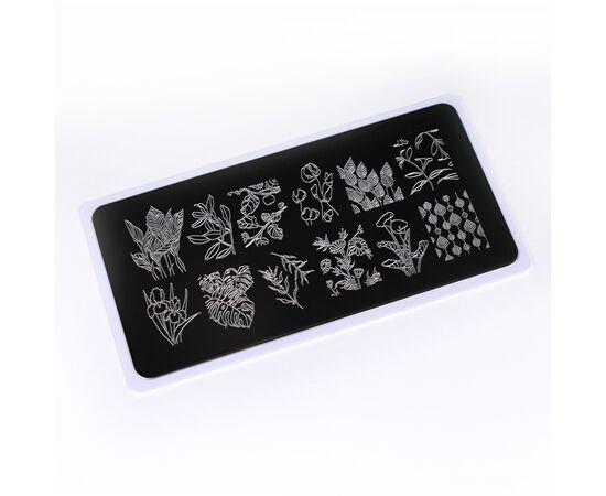 ONIQ Пластина для стемпинга Echo: Flora #2 OTE-011 #1
