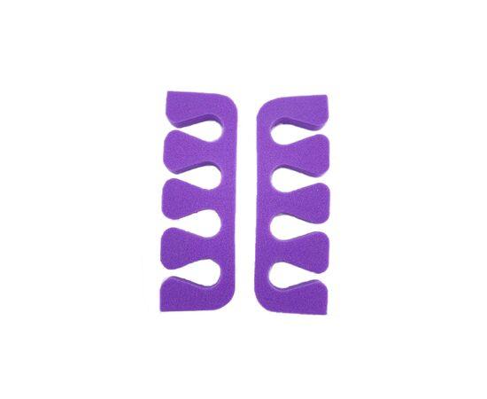 Разделители для пальцев 2 шт (цвет фиолетовый) #1