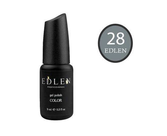 EDLEN Гель-лак № 28, теплый серый, 9 ml #1