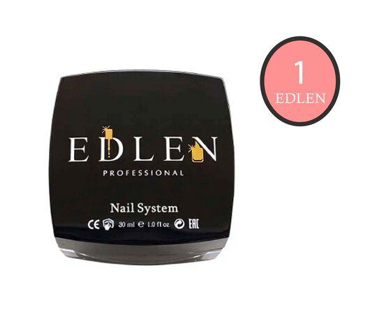 EDLEN Камуфлирующая база French base № 1 Розовый нюд с шиммером, 30 ml #1