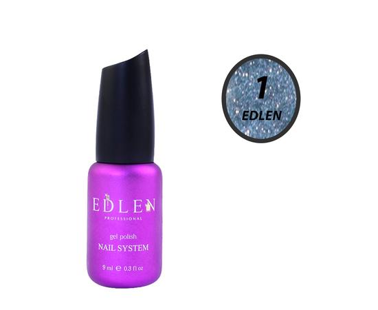 EDLEN Гель-лак Flash Fire № 1 Серо-голубой, 9 ml #1