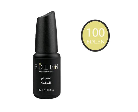 EDLEN Гель-лак № 100, лимонный, 9 ml #1