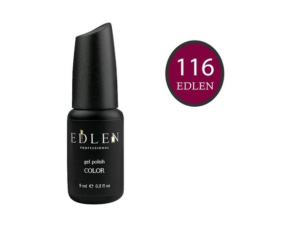 EDLEN Гель-лак № 116, марсала, 9 ml #1