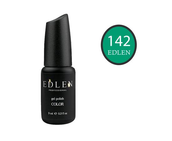 EDLEN Гель-лак № 142, босфорский зеленый, 9 ml #1