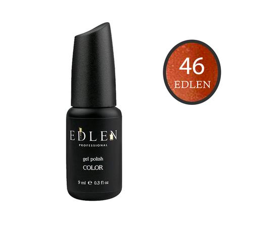 EDLEN Гель-лак № 46, светло-коричневый с шиммером, 9 ml #1