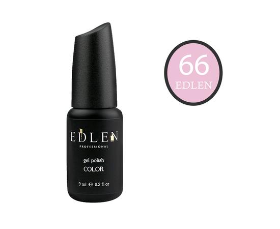 EDLEN Гель-лак № 66, розовый румянец, 9 ml #1