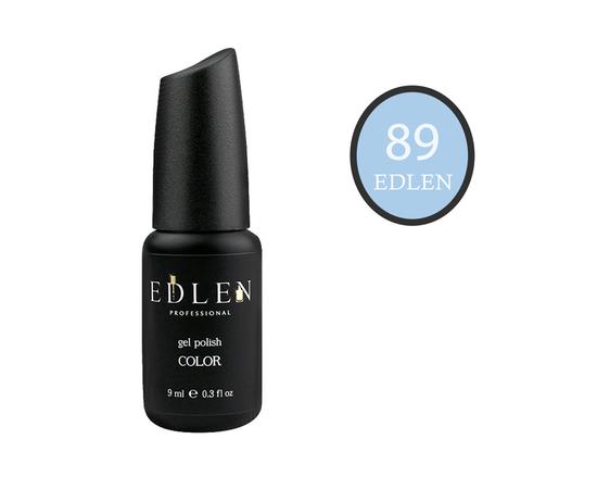 EDLEN Гель-лак № 89, дымчато-голубой, 9 ml #1