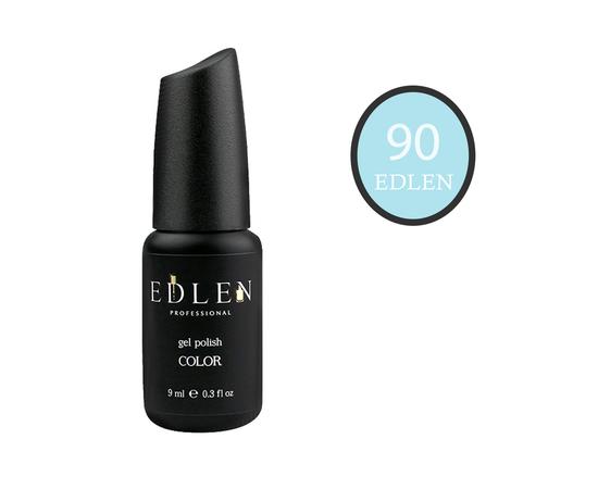 EDLEN Гель-лак № 90, пастельный голубой, 9 ml #1