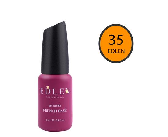 EDLEN Цветная база Color Base № 35 Манго, 9 ml #1